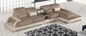 Faux Leather Sectional Sofa With Chaise 4pcs Left Chaise Orange White Faux Leather Sectional Sofa Set