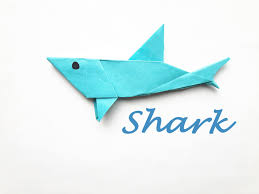 how to make a paper shark youtube