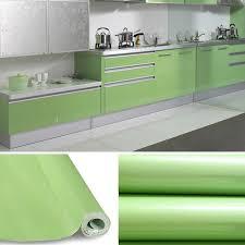 stickers porte placard cuisine kinlo 5m 0 61m papier peint auto adhésif vert pour armoire
