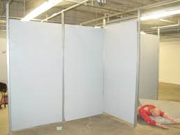 artisan design partition wall for an art gallery more moveable