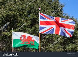 How Old Is The Welsh Flag British Union Jack Welsh Flag Fly Stock Photo 408770539 Shutterstock