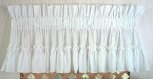 Country Ruffled Valances Carolina Prestige Ruffled Curtains At Country Ruffles