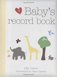 baby record book baby s record book 2008 nebens garland 9781846012815