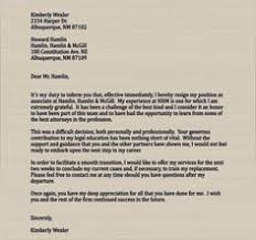 3 highly professional two weeks notice letter templates letter