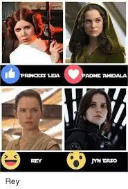 Leia Meme - princess leia rey adme amidala mn erso rey princess leia meme on