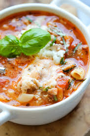 cheesy pasta soup with italian sausage best healthy traditional