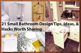 bathroom design tips 21 small bathroom design tips ideas hacks worth