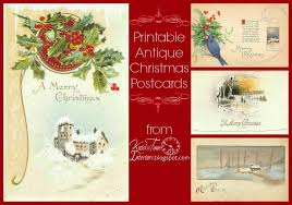 christmas postcards antique christmas postcards knick of time