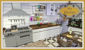 Build My Home Online Sims 4 Speed Build My Kitchen Youtube