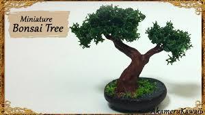 miniature bonsai tree polymer clay tutorial