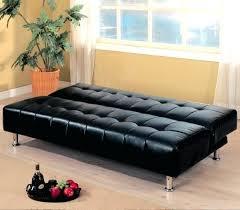canapé lit en cuir sofa lit cuir canapac lit design en cuir noir canape lit cuir 2