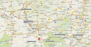 Kaiserslautern Germany Map by Rhineland Saarland And The French German Border Bike Ramble