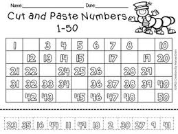 free cut and paste numbers 1 10 1 20 1 50 and 1 100 tpt