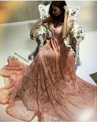 Womens Light Pink Dress Aliexpress Com Buy Beautiful Cap Sleeve V Neck Pink Lace Long