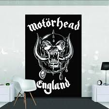 backstreetmerch motorhead categories official merch motorhead wall mural 1 58 x 2 32m