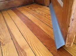 custom door sweep big gap solution for hardwood floors or carpet