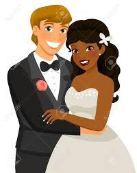 mariage mixte mariage mixte banque d images vecteurs et illustrations libres de