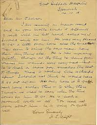 letters from world war one october 14 1918 canadian red cross