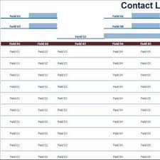 contact book template address books officecom personal contacts