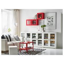 brimnes cabinet with doors glass black ikea