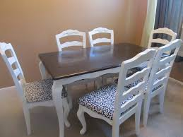 Paint Dining Room Table Distressed Dining Table Ideas Stunning Round White Dining Room