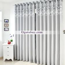 Luxury Grey Curtains Modern Luxury Room Darkening Soundproof Thermal Curtains Buy Grey