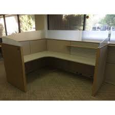 Knoll Reff Reception Desk New U0026 Used Cubicles Delivery In Orange County And Los Angeles