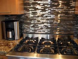 kitchen with stainless steel backsplash kitchen design 20 photos most popular stainless steel backsplash