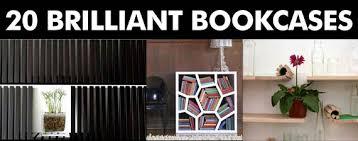 Cool Bookcase Ideas Cool Home Bookcases 20 Brilliant Bookcase Designs