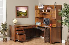 Oak Corner Office Desk Desk Oak Corner Office Desk Wood Computer Hutch Mini Wood Desk