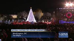 christmas tree lighting near me president lady light national christmas tree dec 1 2016 video c