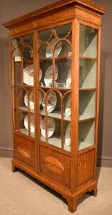 Rosewood Display Cabinet Singapore A Fine Sheraton Style Display Cabinet 1890 England From Walton
