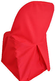 Polyester Chair Covers Polyester Folding Chair Covers Red