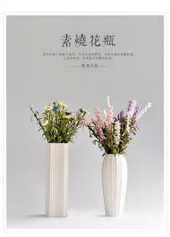 wholesale home decor suppliers canada wholesale home decoration stripe white ceramic flower vase view