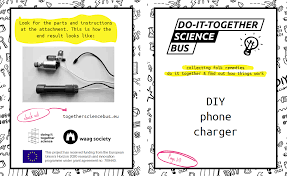 diy phone charger diy phone charger doing it together science