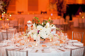 low centerpieces flowers by brian wedding flowers long island