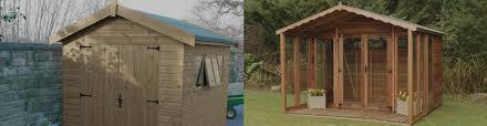 Summer Garden Sheds - sheds summer houses play dens cabins tobys sheds newton