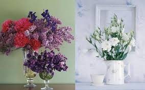Flower Arrangements In Vases Romantic Mothers Day Presents In Vintage Style Fresh Flower