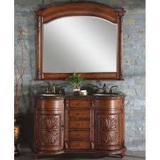 54 Inch Bathroom Vanity Single Sink 54 Inch Elda Vanity