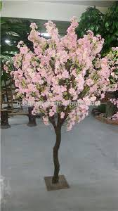artificial decorative silk flower trees large and small plastic