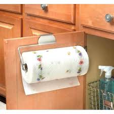 under cabinet paper towel holder target paper towel holder inside cabinet towel holder for kitchen cabinets