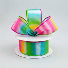ombre ribbon 1 5 multicolor ombre ribbon 10 yards q614509 09 craftoutlet