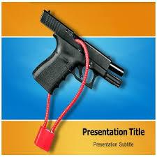 amazon com gun safety powerpoint gun safety powerpoint template
