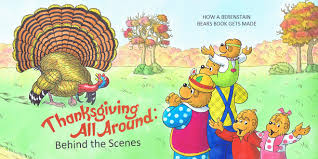 the thanksgiving all around the berenstain