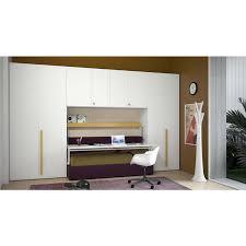 Hidden Desk Bed by Shou Overbed Wardrobe With Hidden Desk Clever It