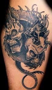 evil dragon tattoo designs more info