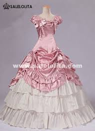 Ball Gown Halloween Costumes Brand Pink Southern Belle Victorian Prom Princess Dresses Ball