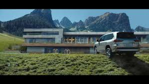 who is the in the lexus commercial the in refinement meets the in capability with