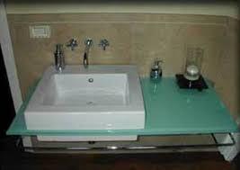 mensola lavabo da appoggio nuova cristalvetri vetreria a barletta dal 1960 lavabi e top