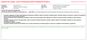 Veterinarian Resume Sample by Animal Control Worker Cover Letter